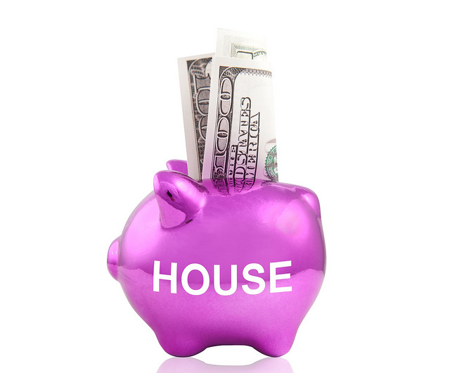 piggy pank saving for house