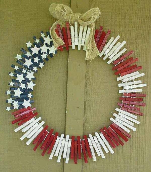 A Pop Of Patriotism American Flag Home Decor Ideas