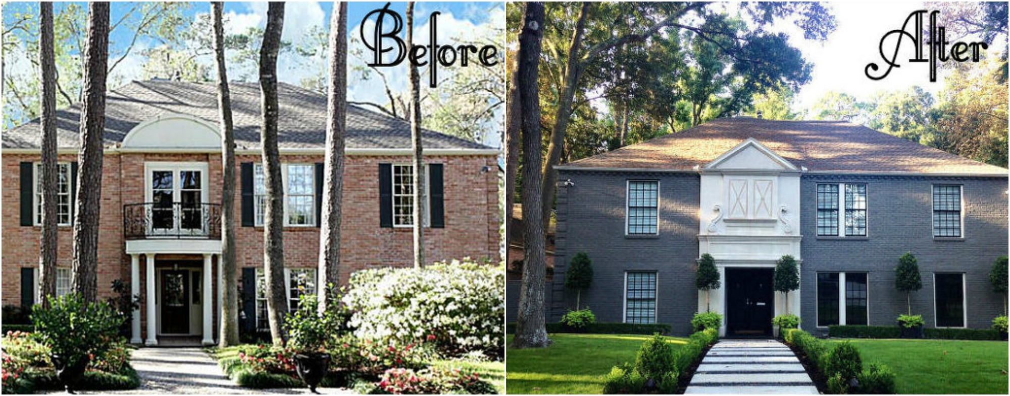 Home Makeovers 9 incredible home exterior makeovers - coldwell banker blue matter