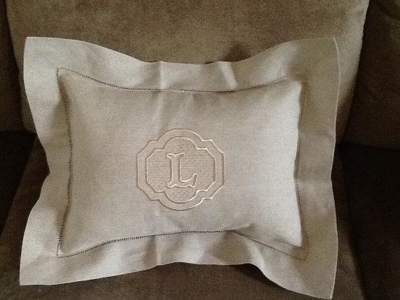 Monogram Pillow Sham