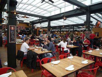 NYC Outdoor Restaurants: La Birreria