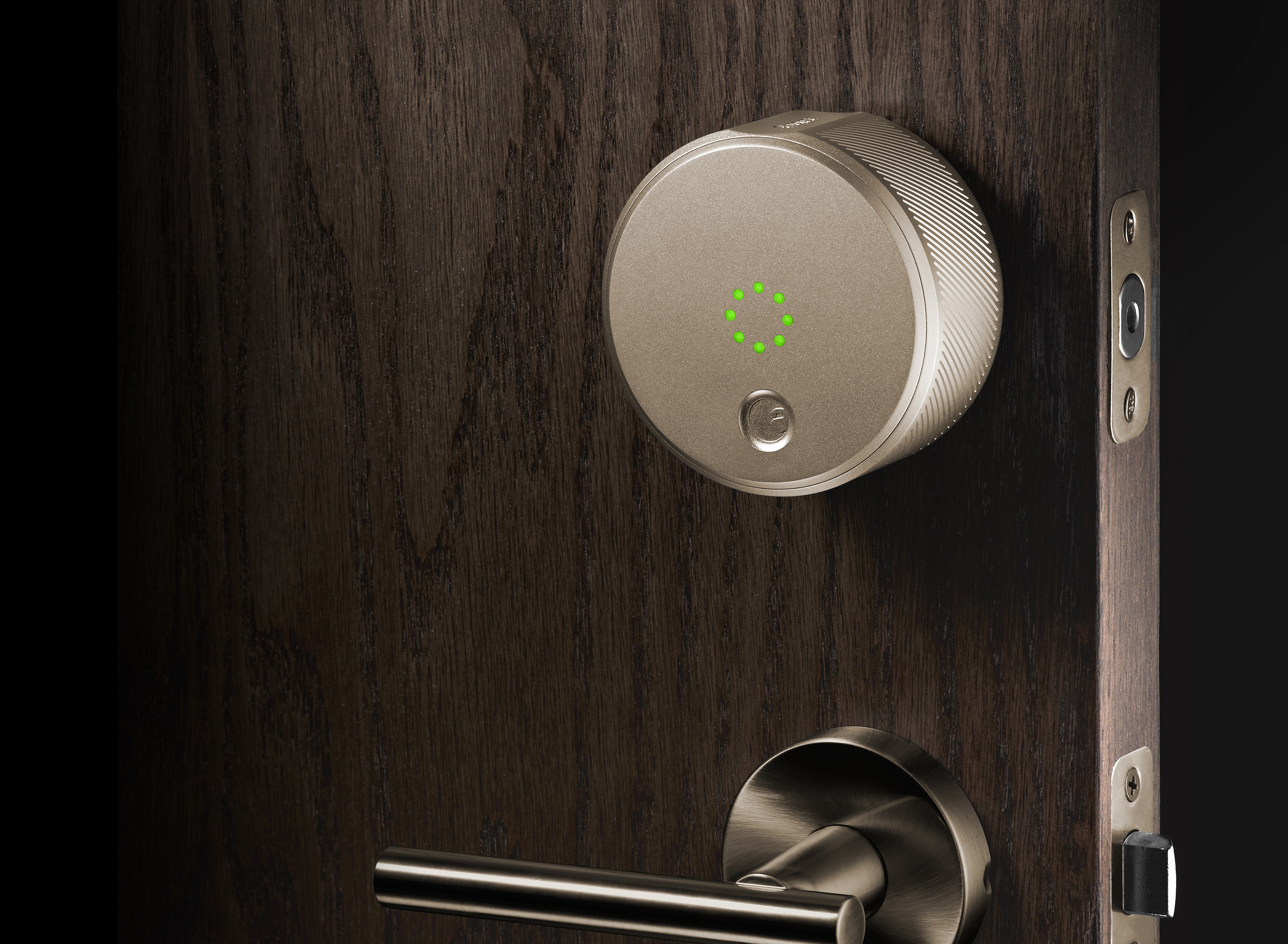 August Smart Lock Champagne