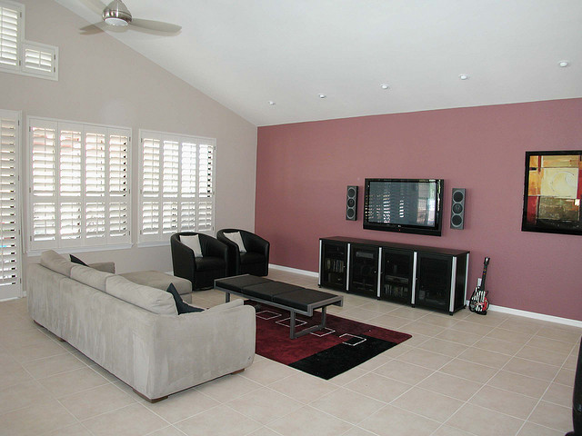 Living Room One Wall Color Ideas Centerfieldbar