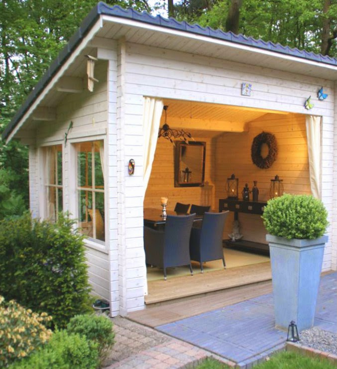 He Said, She Shed - Coldwell Banker Blue Matter