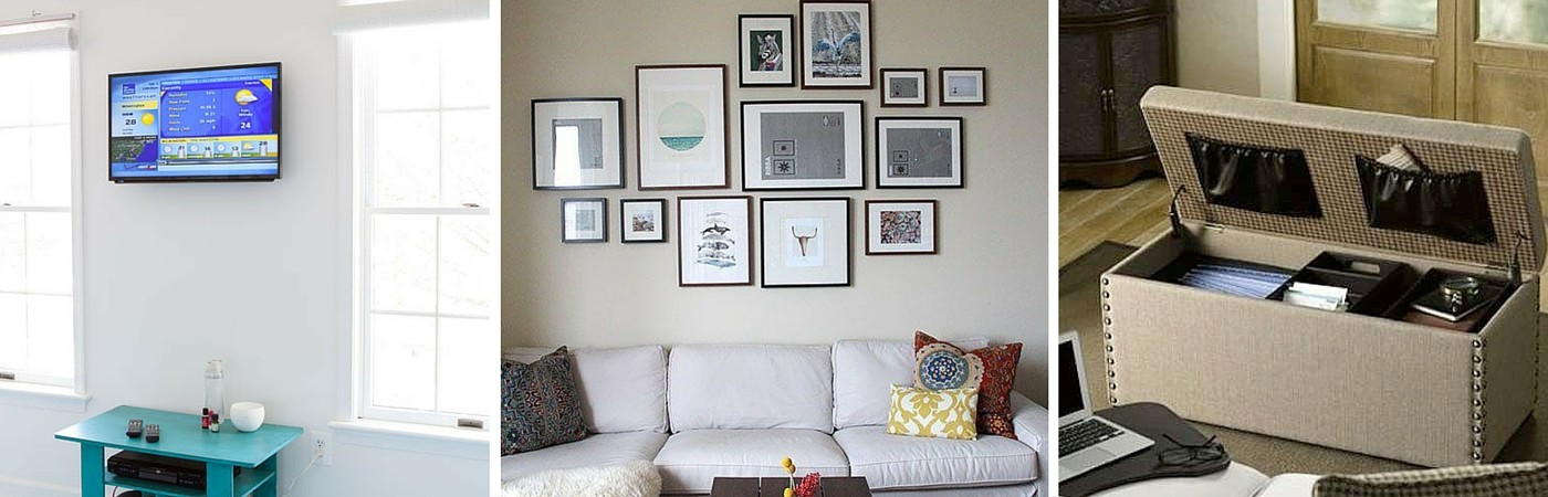 3 ways to instantly declutter your living room coldwell banker blue matter - Maximizing design of living room by determining its needs ...