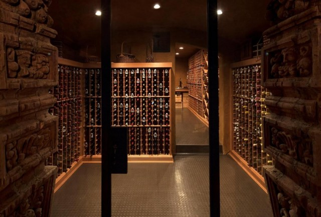 We've heard of home libraries before, but a wine library? The expansive cellar in this Montecito, CA property listed by Susan Conger is a true collector's dream.