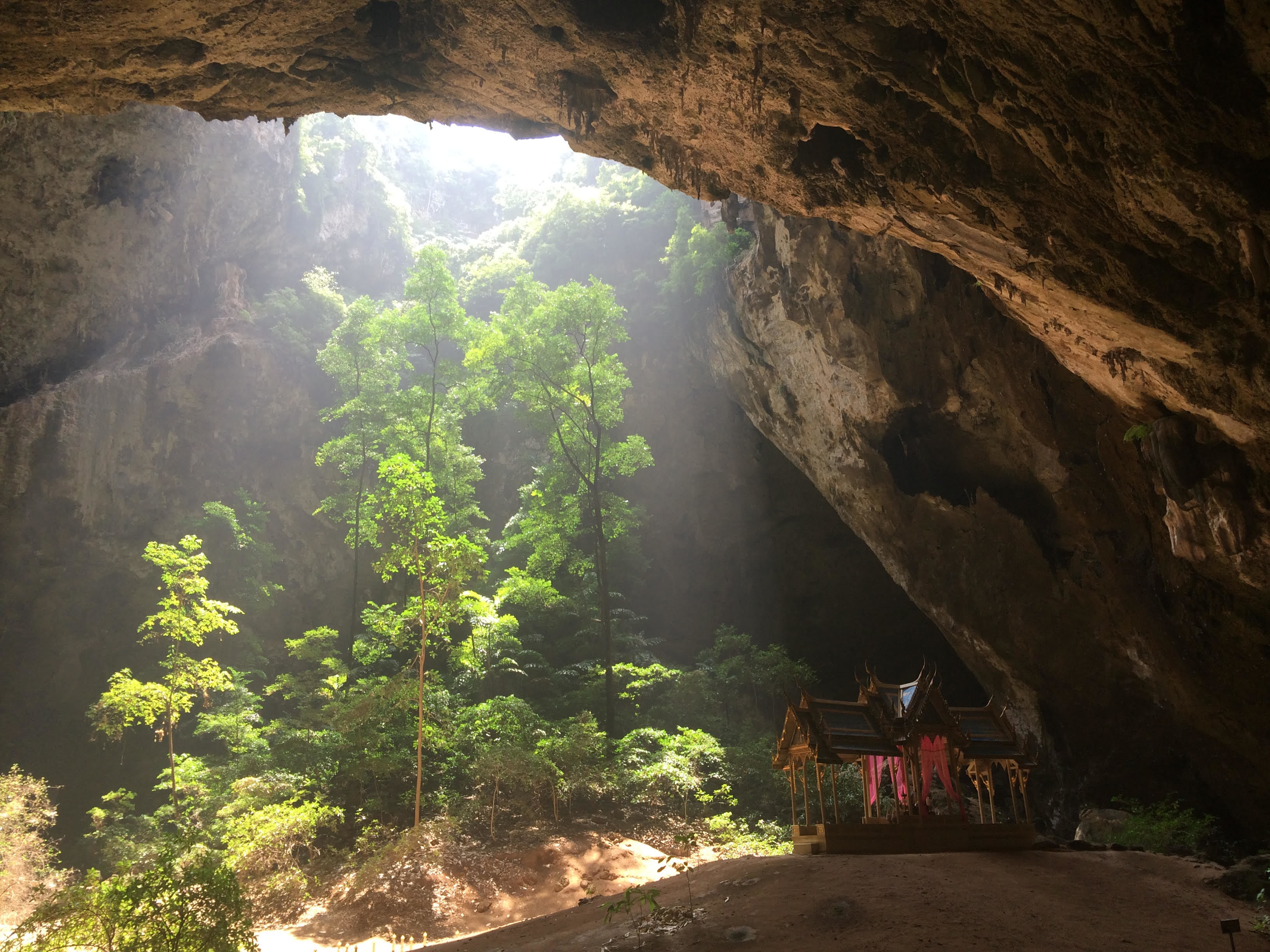 Phraya Nakhon Cave at Khao Sam Roi Yot National Park