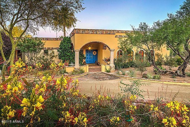 This Carefree, AZ property is listed at $1,475,000 by Robert Pfeiffer with Coldwell Banker Residential Brokerage.