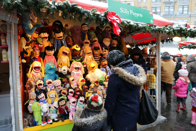 Things to Do with Kids in NYC: Holiday Market