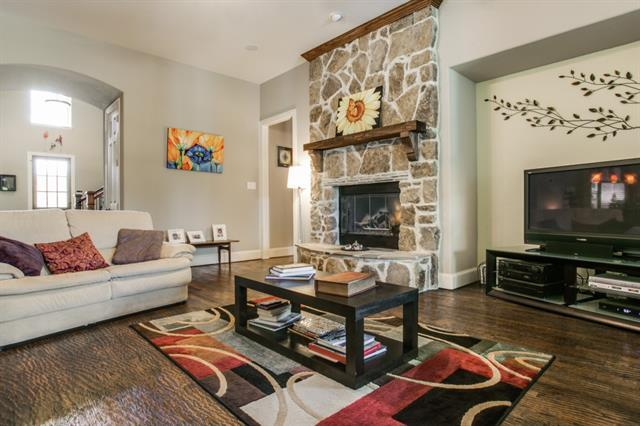 Rock fireplaces provide flexibility in DFW homes