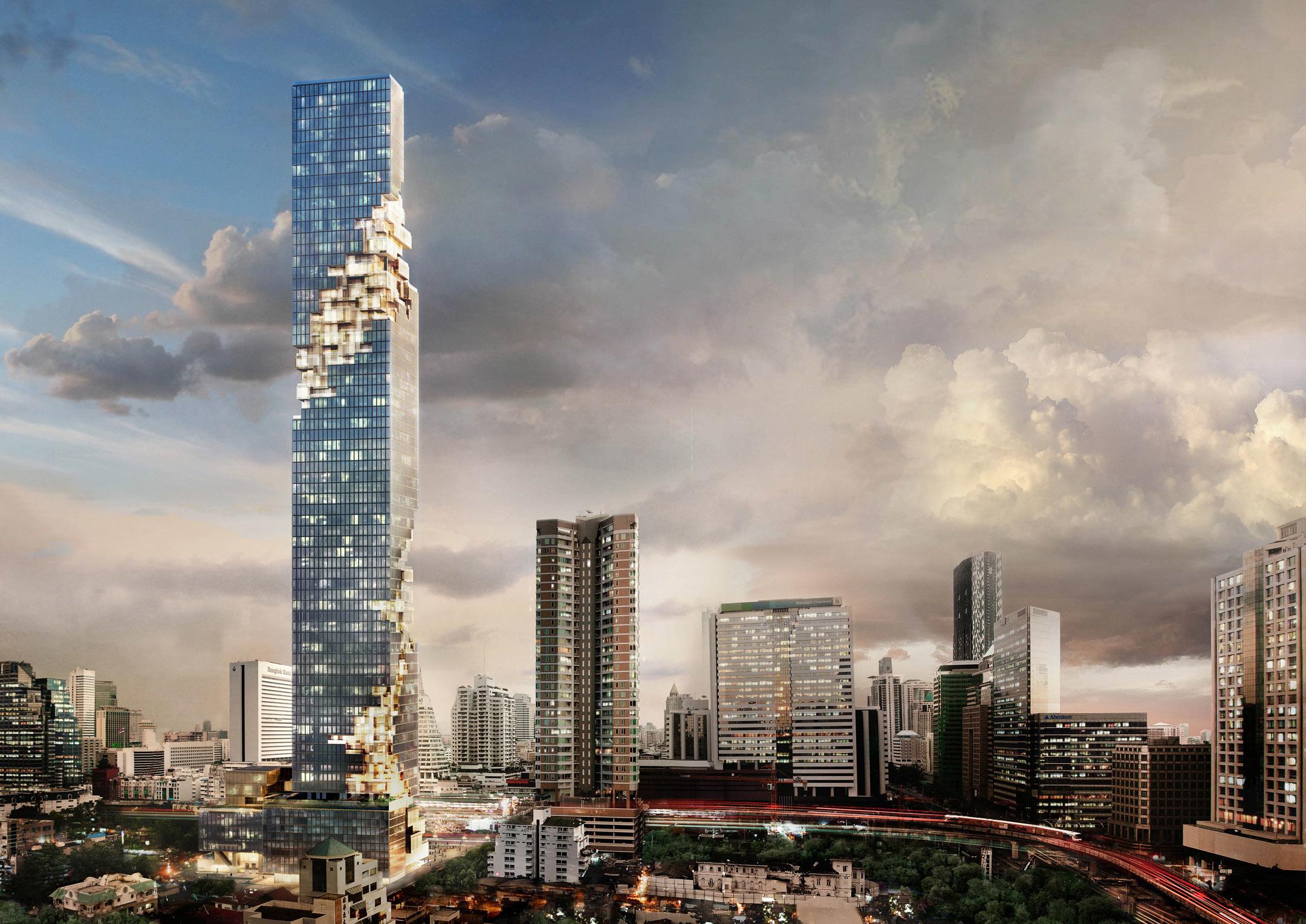 An iconic addition to the Bangkok skyline