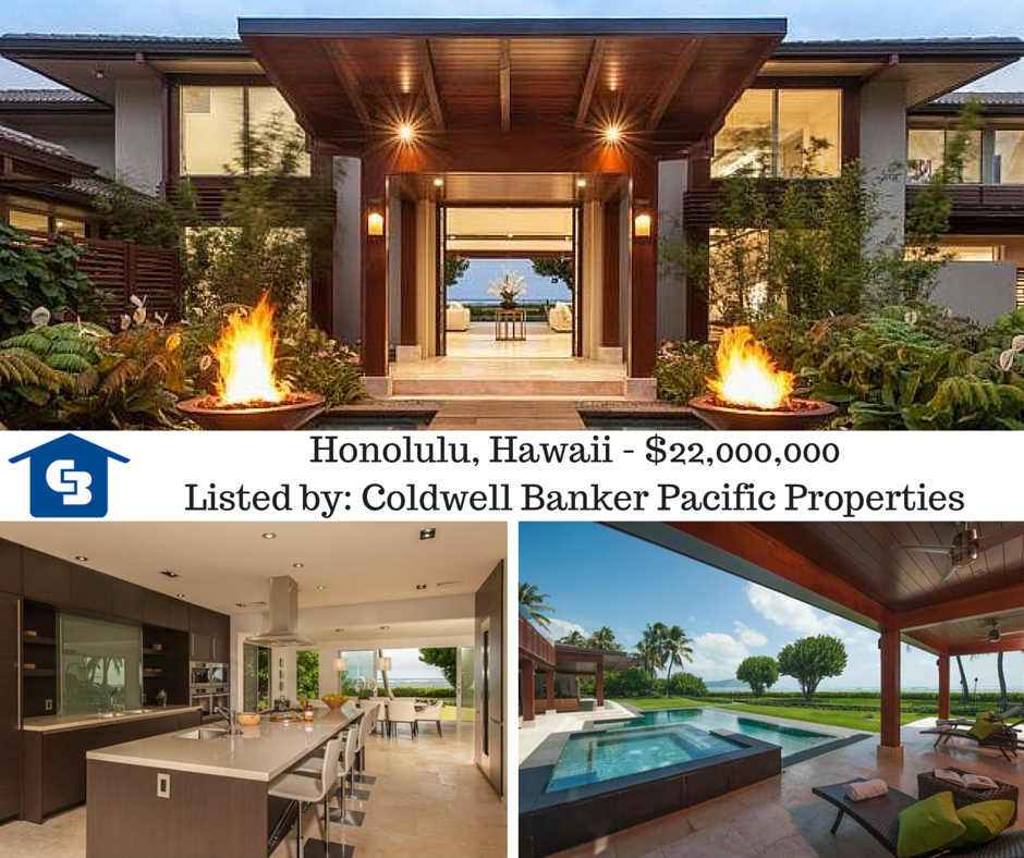 Honolulu, Hawaii - $22,000,000Listed by- Coldwell Banker Pacific Properties