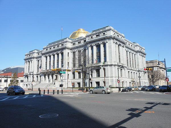 Newark City Hall on Broad Street