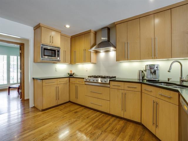 Modern kitchens in North Dallas