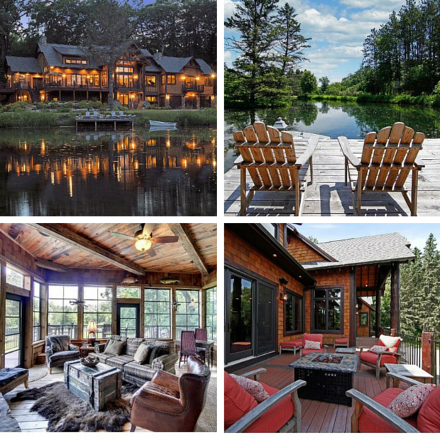 Luxury Lake Homes In Minnesota: 5 Lavish Lake Houses You'll Want To Dive Into This Summer