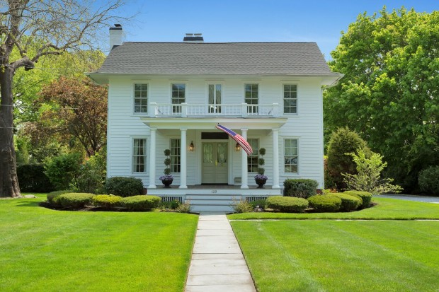 This remarkable historic colonial is located at 129 Bayview Ave in Amityville, NY and is listed by Jennifer Ronzo with Coldwell Banker Harbor Light.