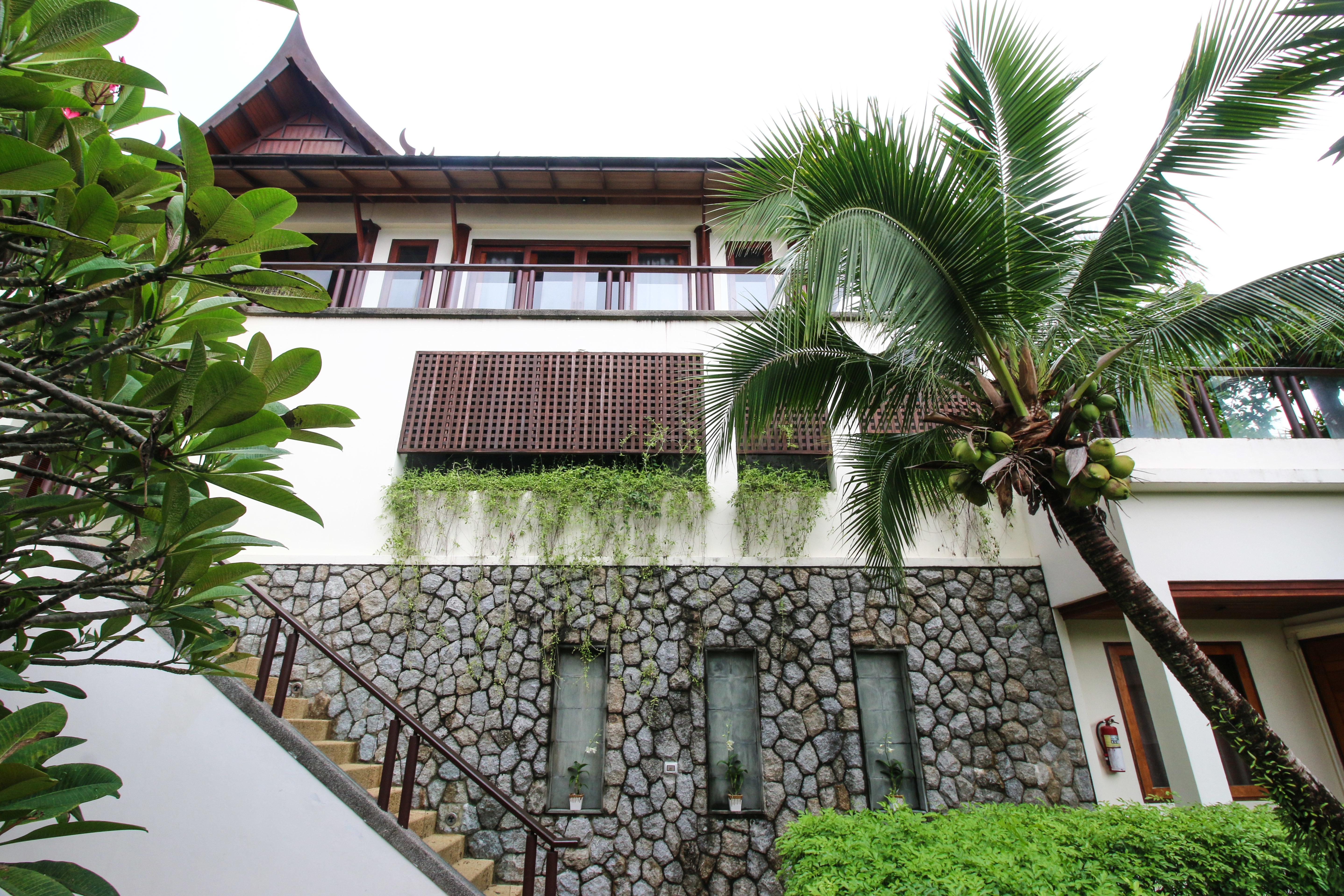 Phuket villa entrance