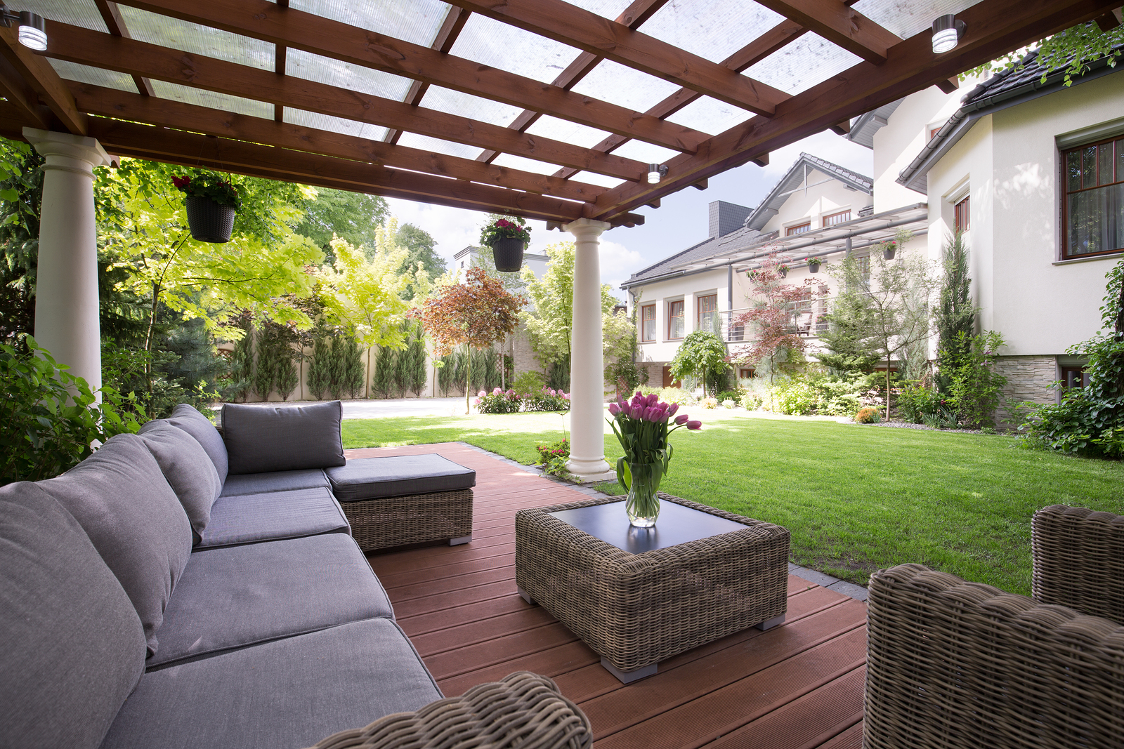 summer projects for creating the ultimate backyard add ample seating