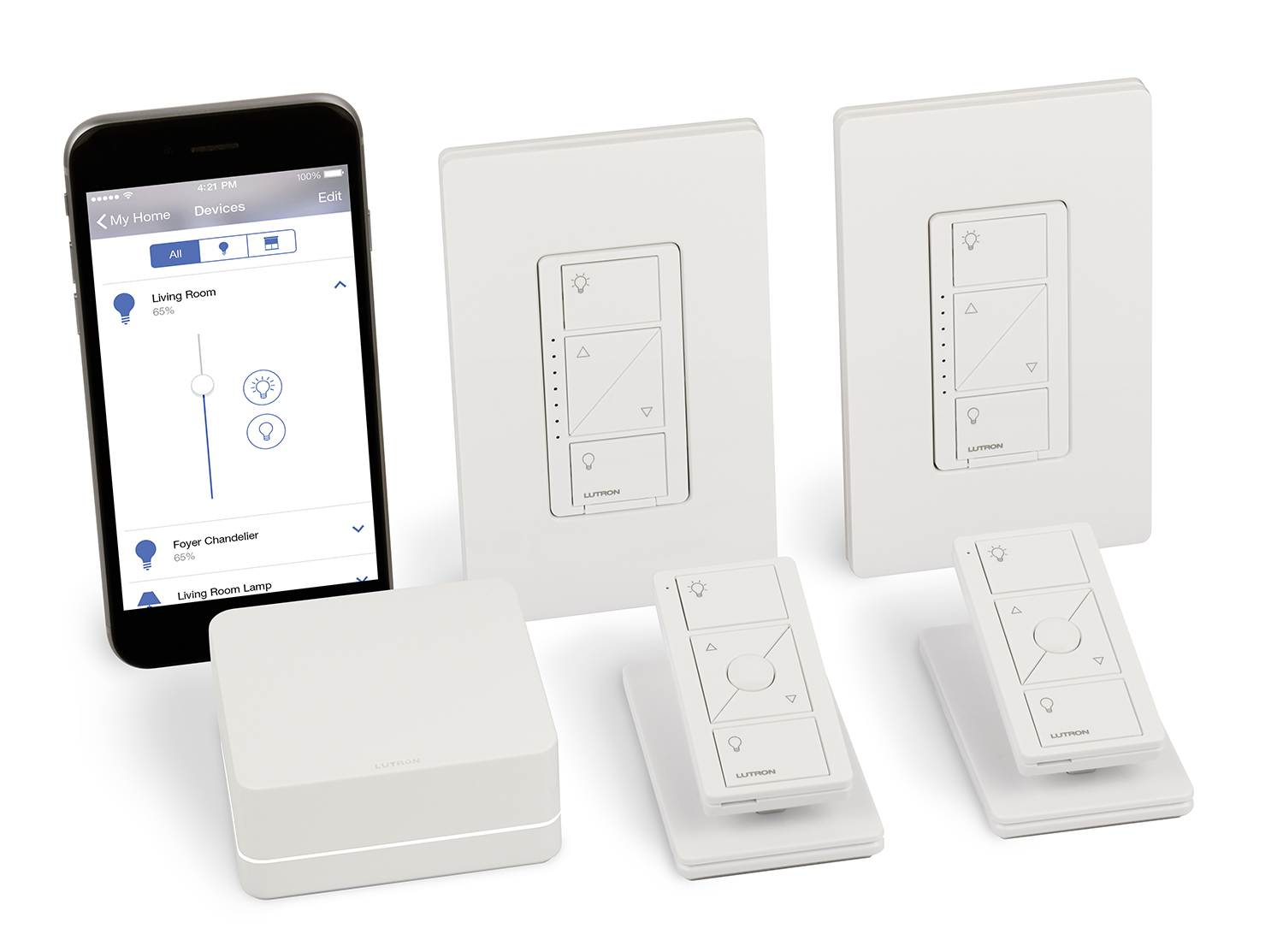 Lutron Smart Lighting Dimmer Kit - In-Wall