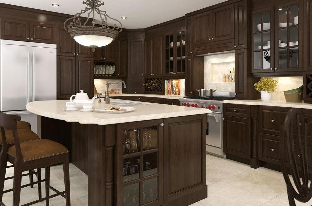 The Trick To Organizing A Kitchen With Glass Front Cabinets Coldwell Banker Blue Matter