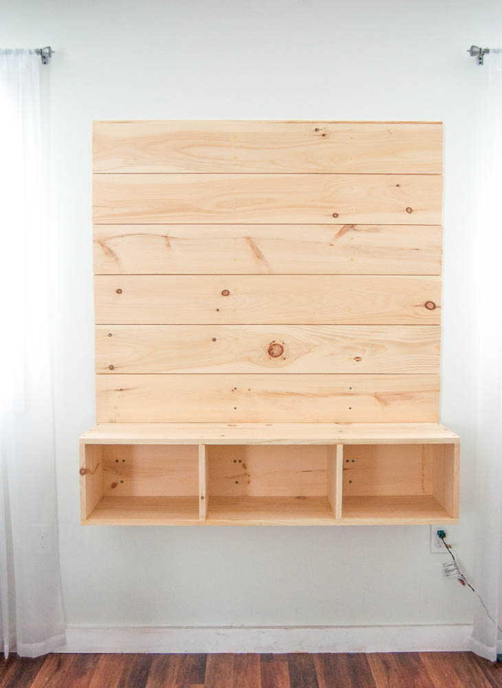 Step 16: Attach The Door To The Middle Portion Of The Shelf With Two Small  Utility Hinges Attached To The Bottom Of The Unit And A Magnetic Cabinet  Catch On ...