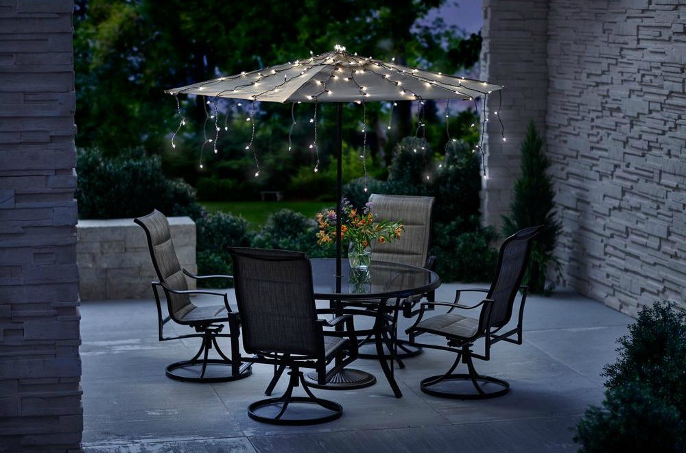 For Example Consider Hanging Decorative String Lights Inside Of Your Umbrella That Wow Factor During A Warm Summer Evening When Cooking Out