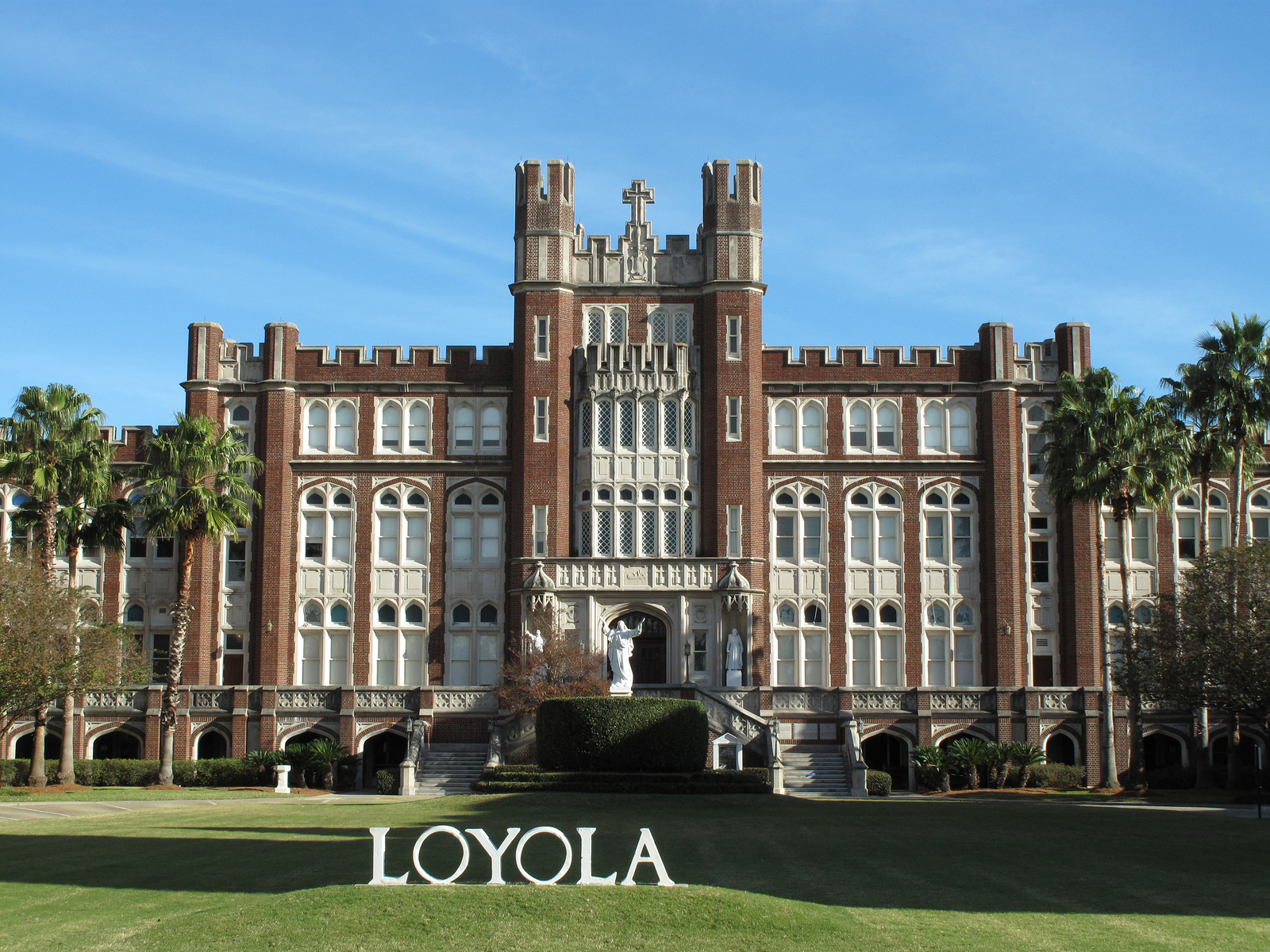 Loyola University campus in Uptown New Orleans, Louisiana