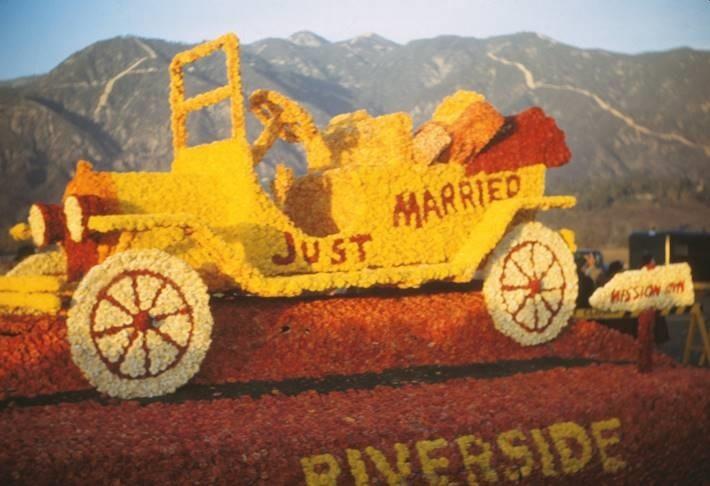 Riverside Rose Parade Float 1951