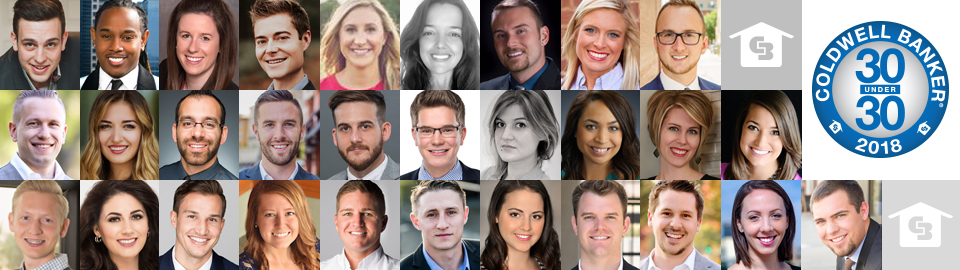 Coldwell Banker Real Estate Honors its 2018 30 Under 30