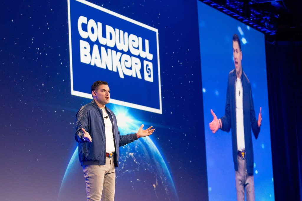 David Marine Coldwell Banker Project North Star Rebrand at Gen Blue Conference in Las Vegas