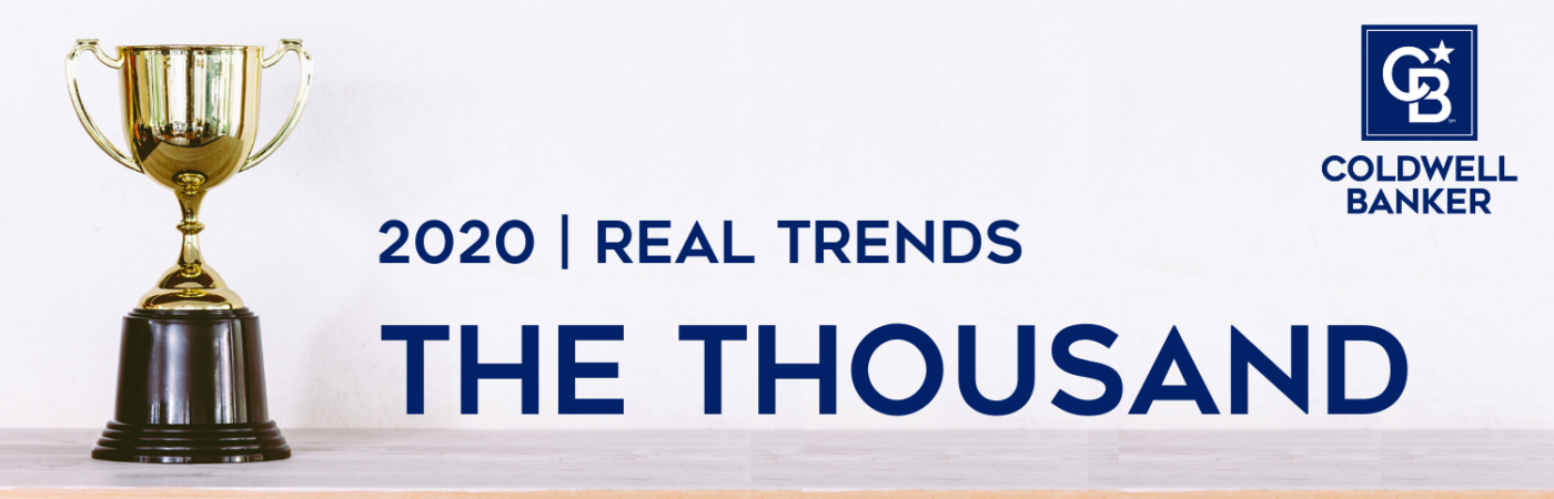 "Coldwell Banker Agents & Teams Named to REAL Trends ""The Thousand"""