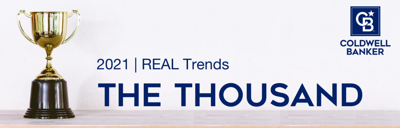 """Coldwell Banker Agents & Teams Named to REAL Trends """"The Thousand"""""""